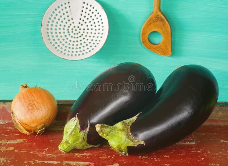 Download Two Eggplants Stock Image - Image: 35322541
