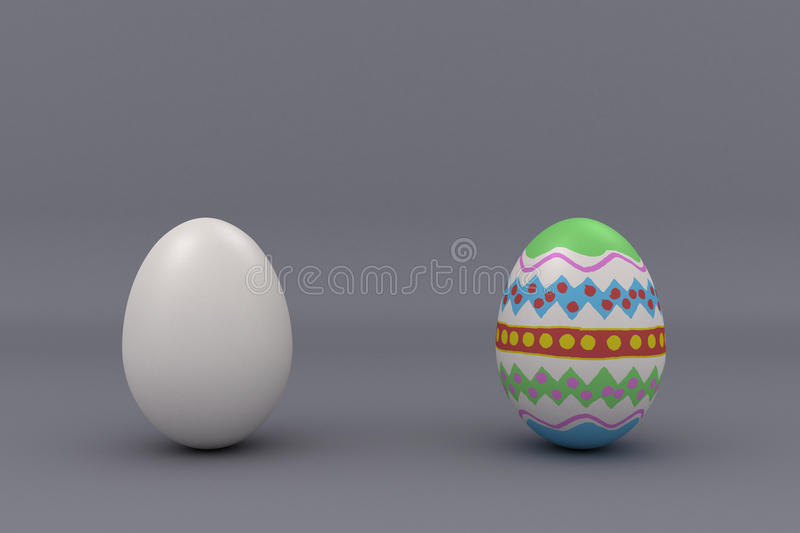 Download Two eggs stock illustration. Image of diet, close, fragile - 30042610