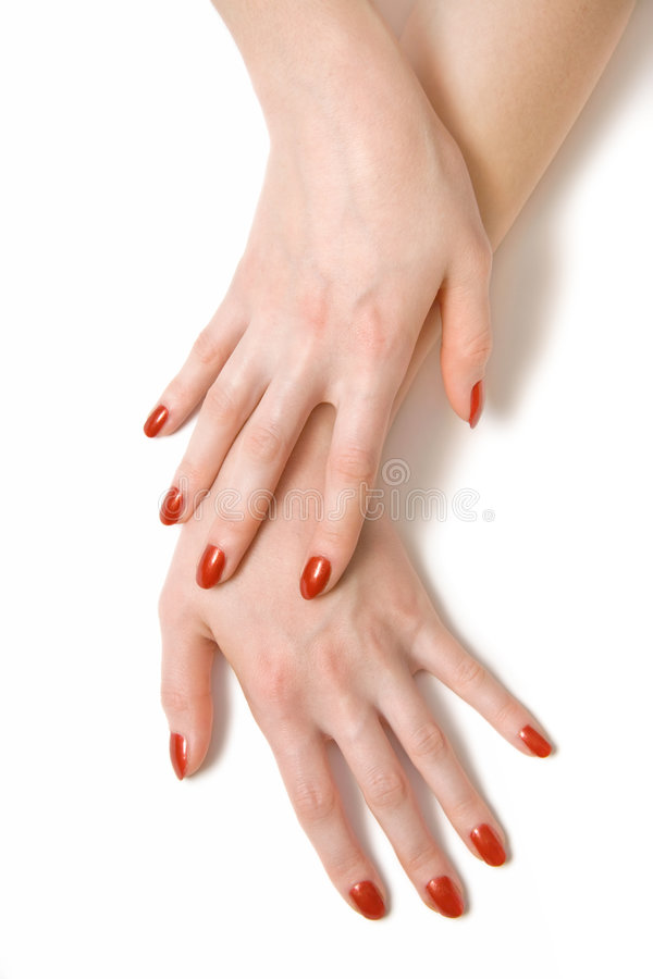 Free Two Elegant Woman Hands Royalty Free Stock Image - 3611096