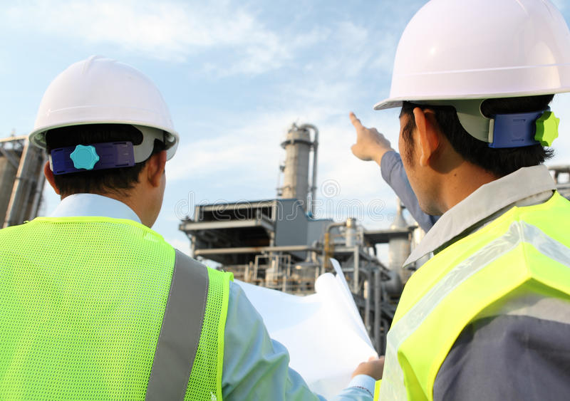 Download Two Engineer Discussing A New Project Stock Image - Image: 24395659