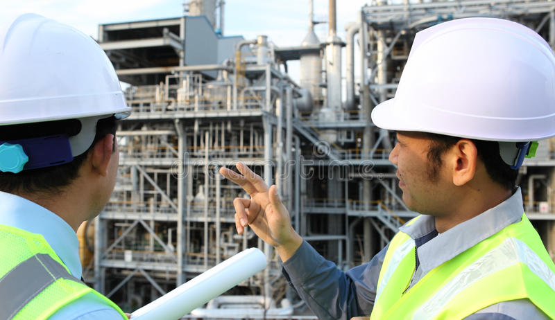 Download Two Engineer Discussing A New Project Stock Photo - Image: 24405364