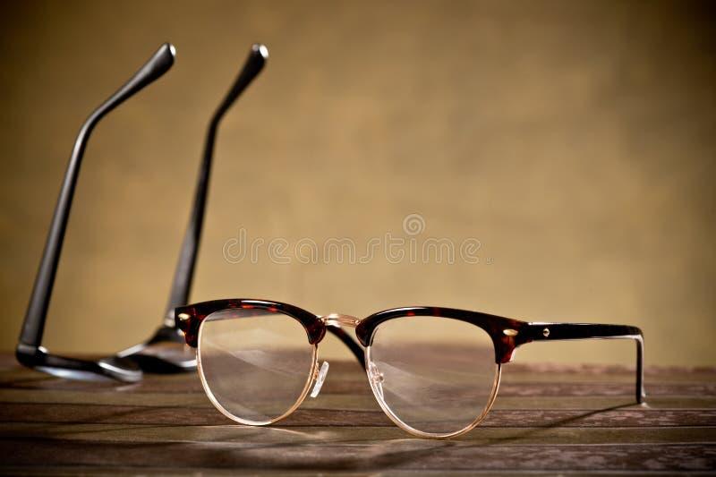 Two eyeglasses royalty free stock photos