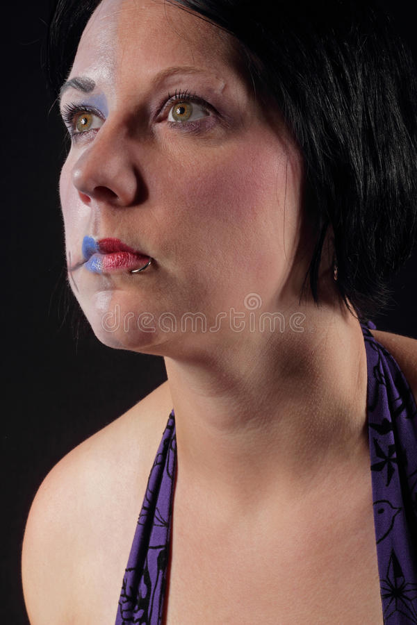Two face royalty free stock photos