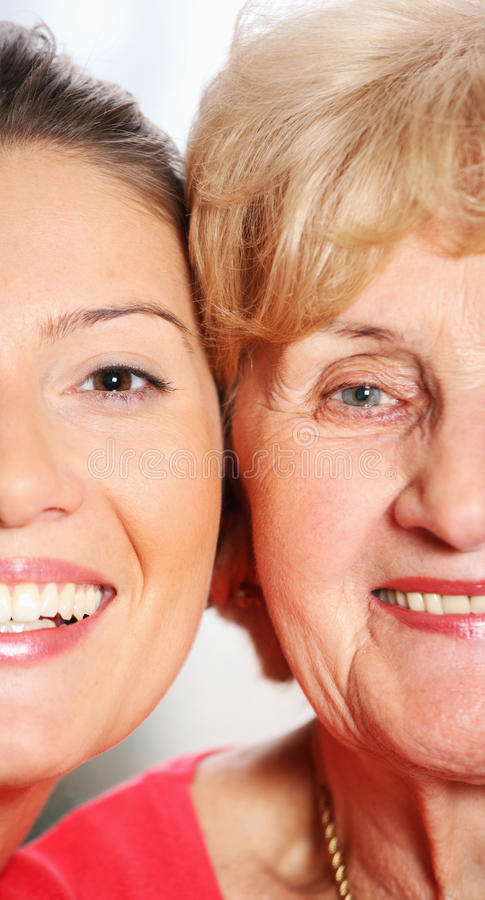 Two Faces Royalty Free Stock Photos