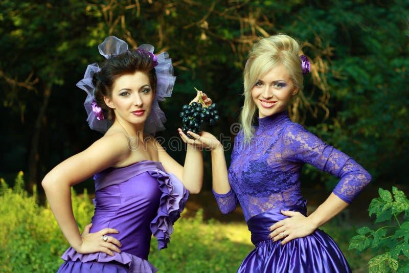 Download Two Fashionable Beautiful Women Stock Image - Image: 25821891