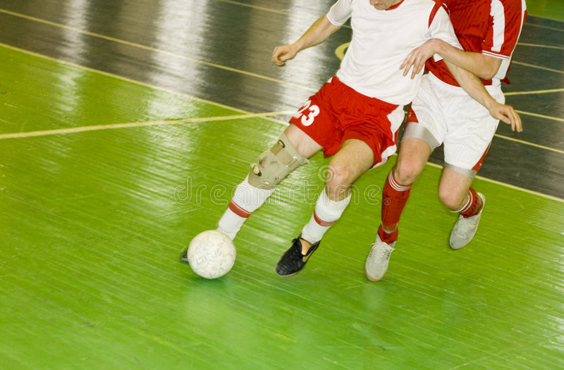 Download Two Football Players Struggle For Ball Possession Stock Photo - Image of soccer, grass: 2101612
