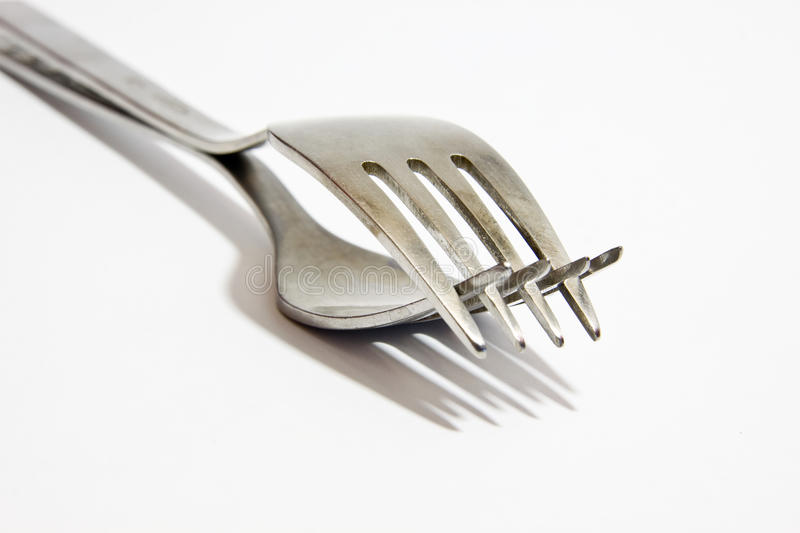 Download Two Forks Stock Photography - Image: 28640432