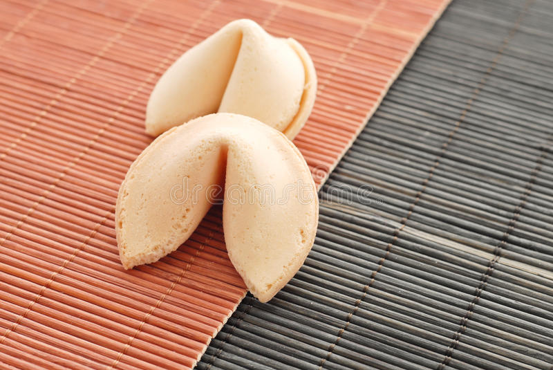 Download Two Fortune Cookies stock photo. Image of culinary, lunch - 24932418