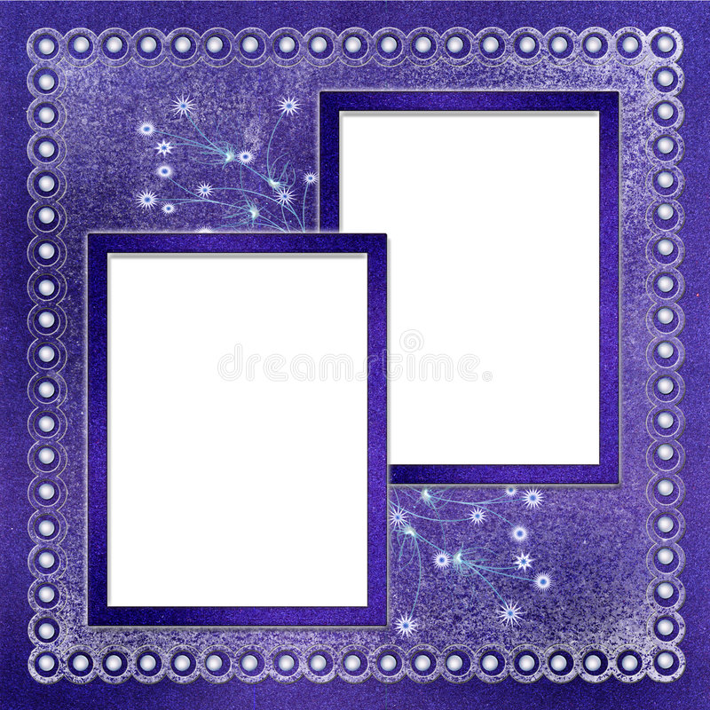 Two frames for photo royalty free stock images