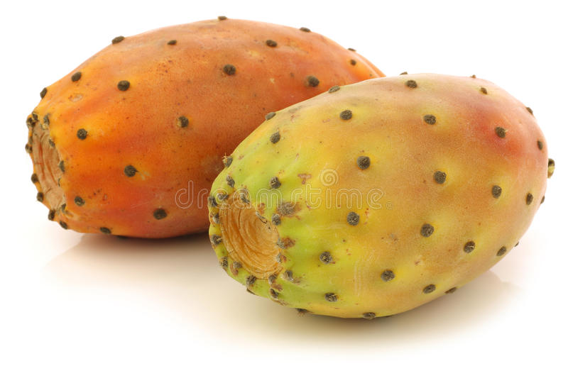 Download Two Fresh Colorful Cactus Fruits Stock Photo - Image: 22084902