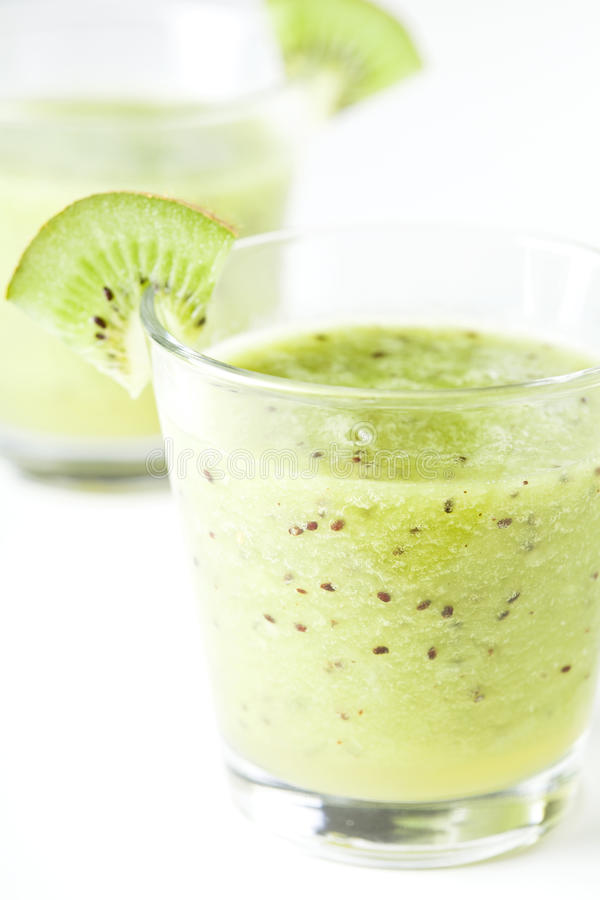 Two Fresh Juices stock photography