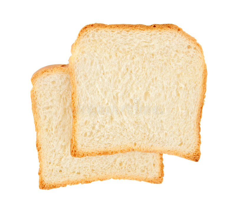Free Two Fresh Slices Of Bread Royalty Free Stock Photography - 29495987