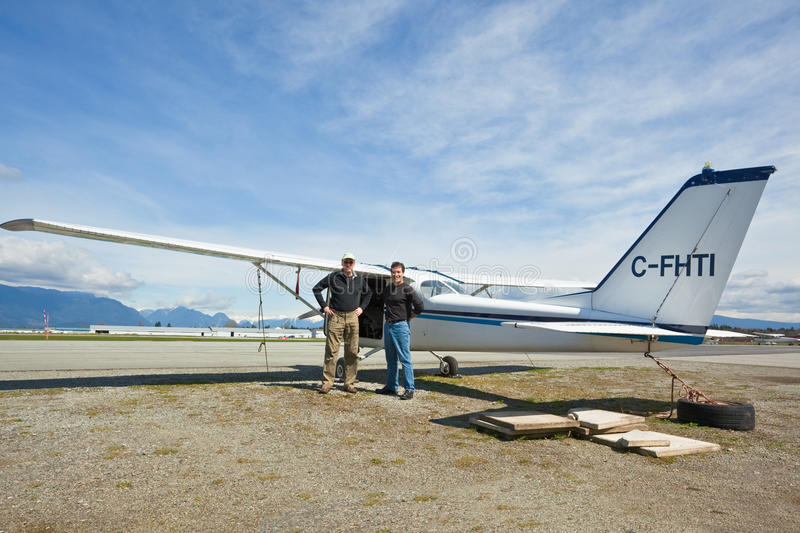 Download Two Friends Heading Out For A Day Of Flying Stock Image - Image: 10156725