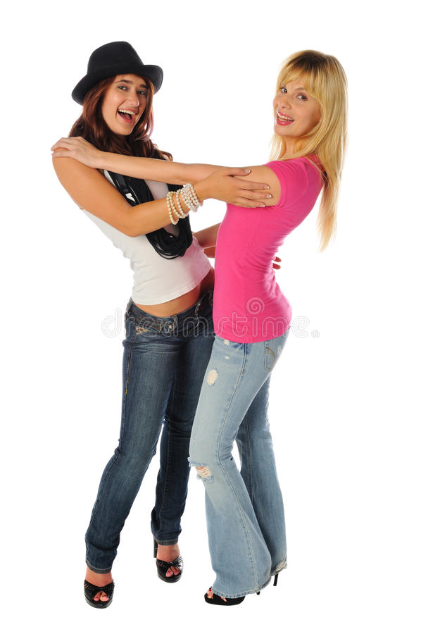 Download Two Friends Posing Together Stock Photo - Image: 14415222