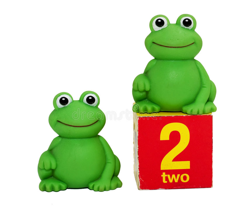 Download Two frogs stock image. Image of gaze, colors, face, white - 7811207