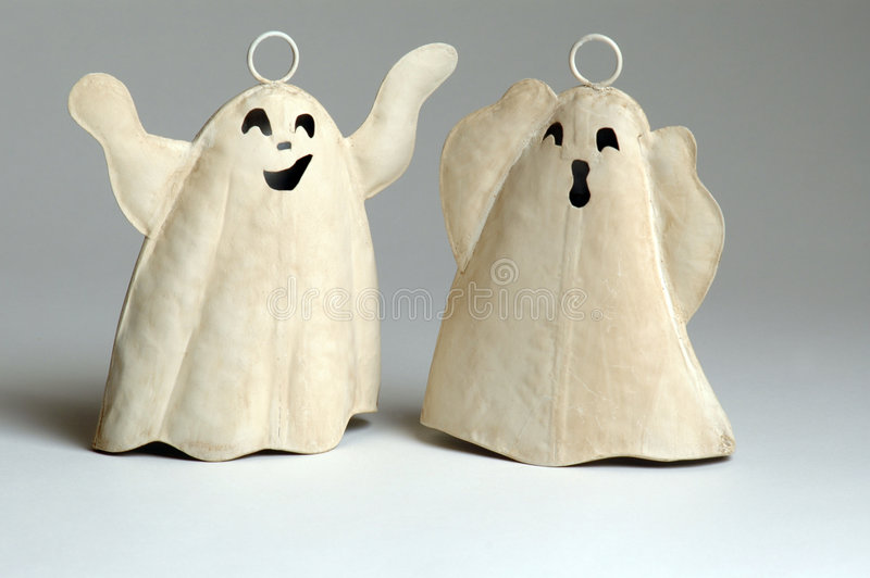 Download Two ghosts stock photo. Image of dead, frighten, halloween - 228422