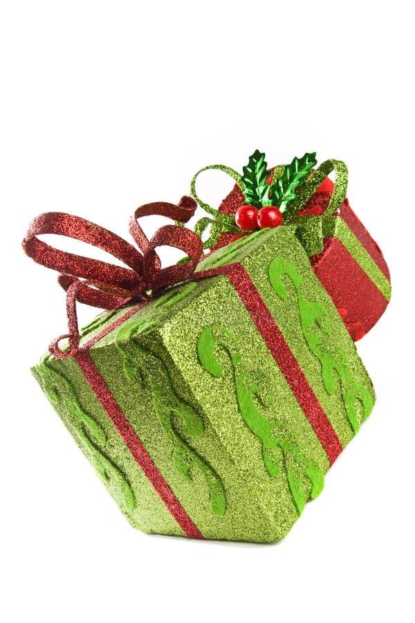 Free Two Gift Boxes Stock Photo - 12171700