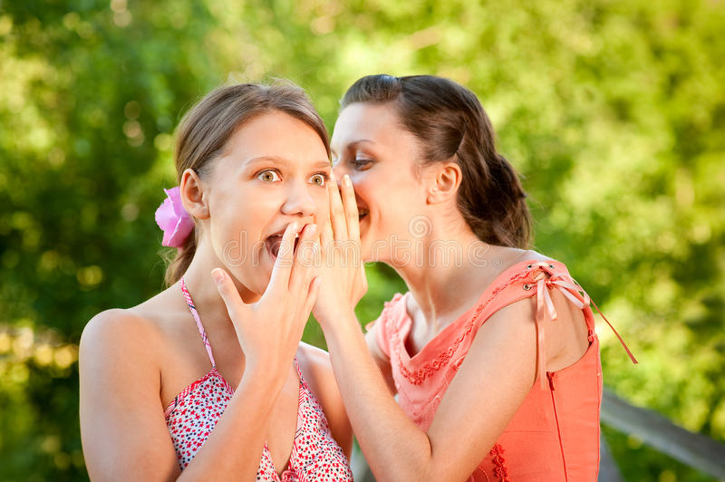 Download Two Girlfriends On Summer Vacations Stock Photo - Image: 11068568