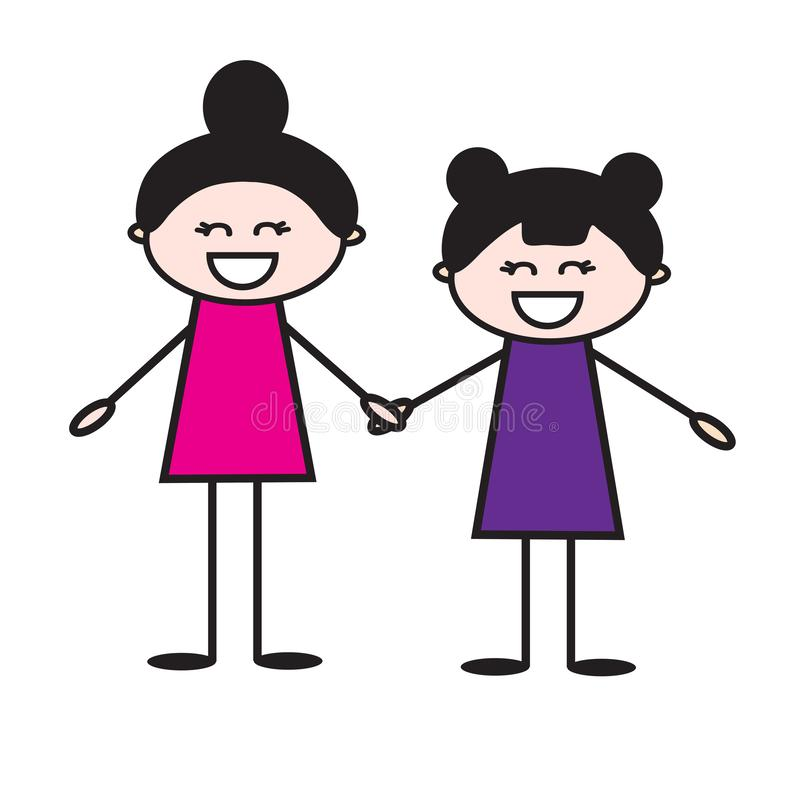 sisters stock illustrations 3 658 sisters stock illustrations vectors clipart dreamstime sisters stock illustrations 3 658