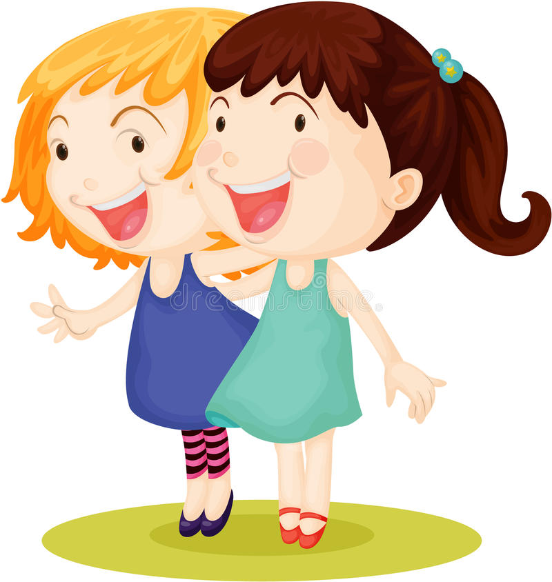 Free Two Girls Stock Photo - 14764600