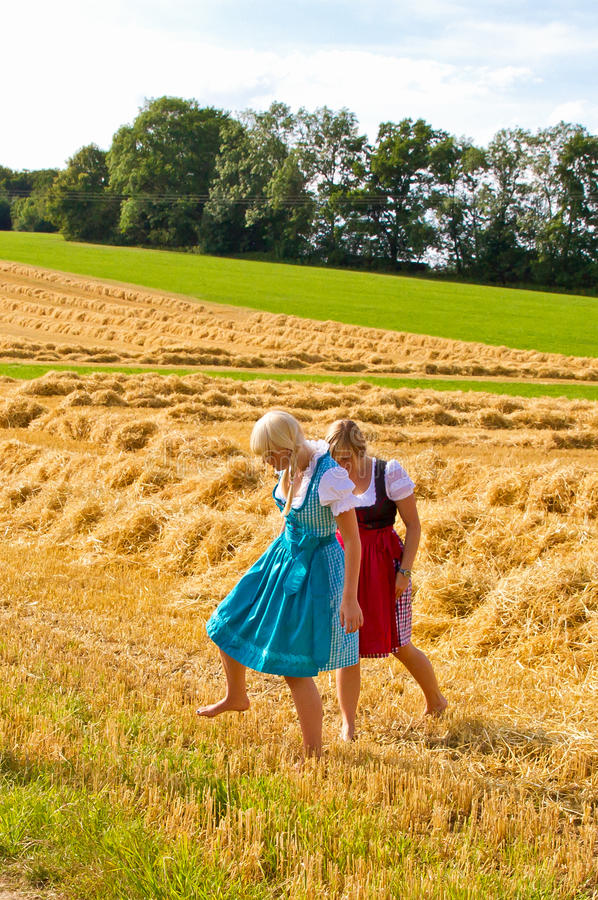 Download Two Girls In Dirndl Royalty Free Stock Photo - Image: 26153825