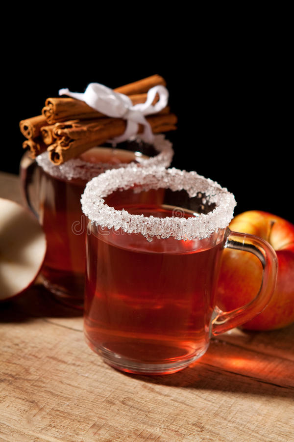 Download Two glass of mulled wine stock image. Image of grog, season - 28846757