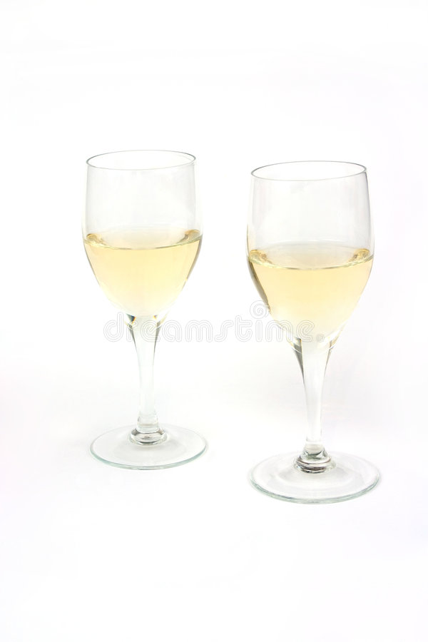 Download Two glasses of wine stock image. Image of liquid, newyears - 1763893