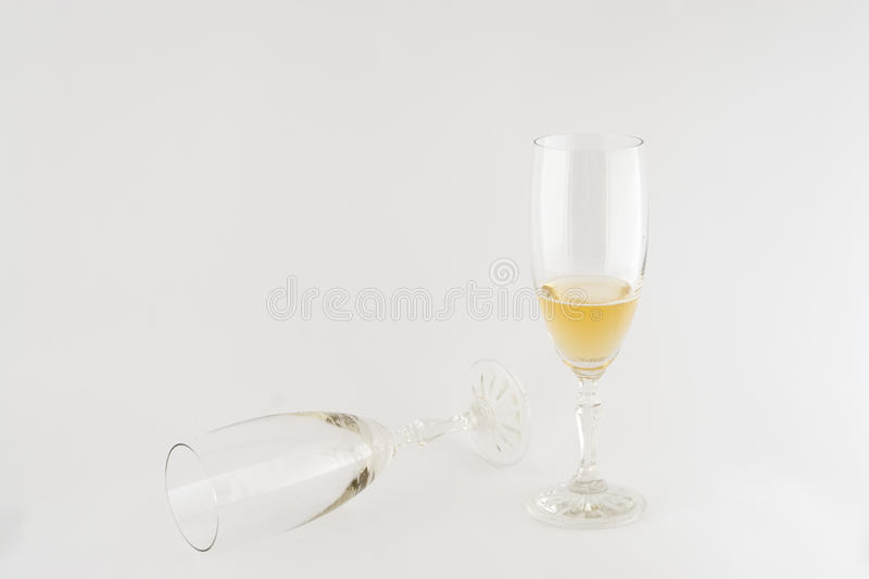 Download Two glasses of wine stock photo. Image of background - 24476942
