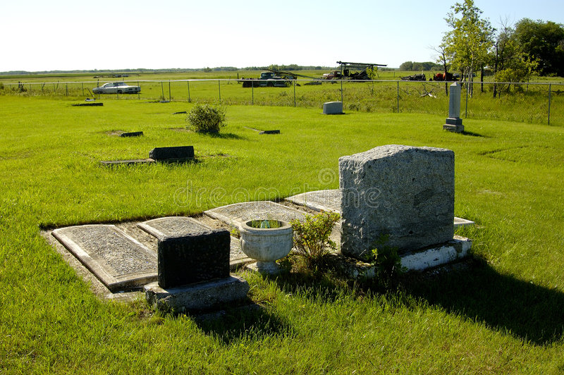 Two Graveyards stock images
