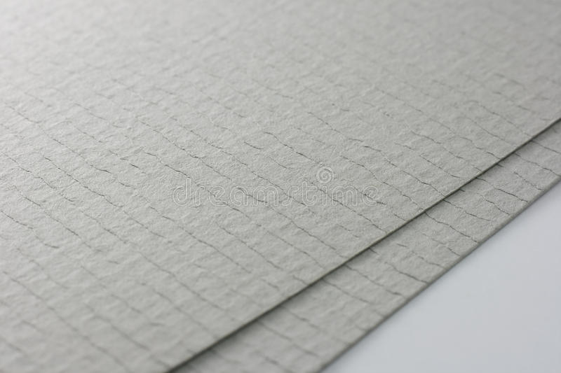 Download Two grey paper sheets stock photo. Image of sheet, canvas - 24119816