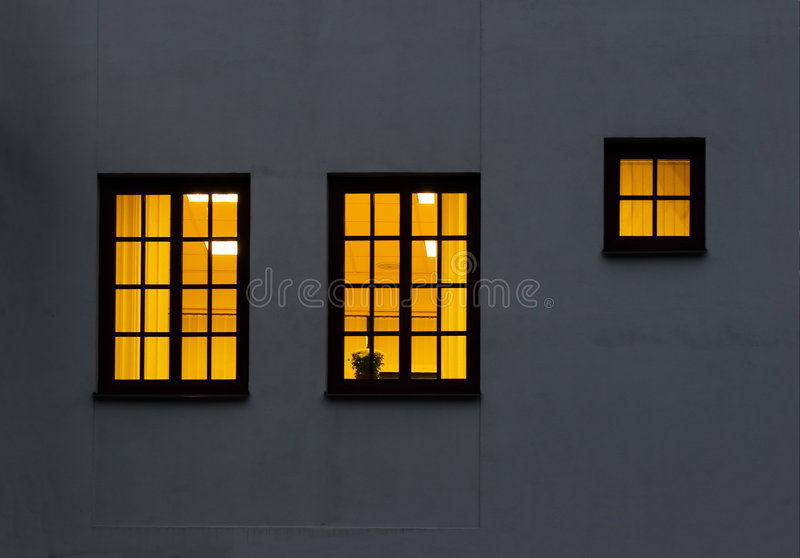 Two and a half windows stock photos