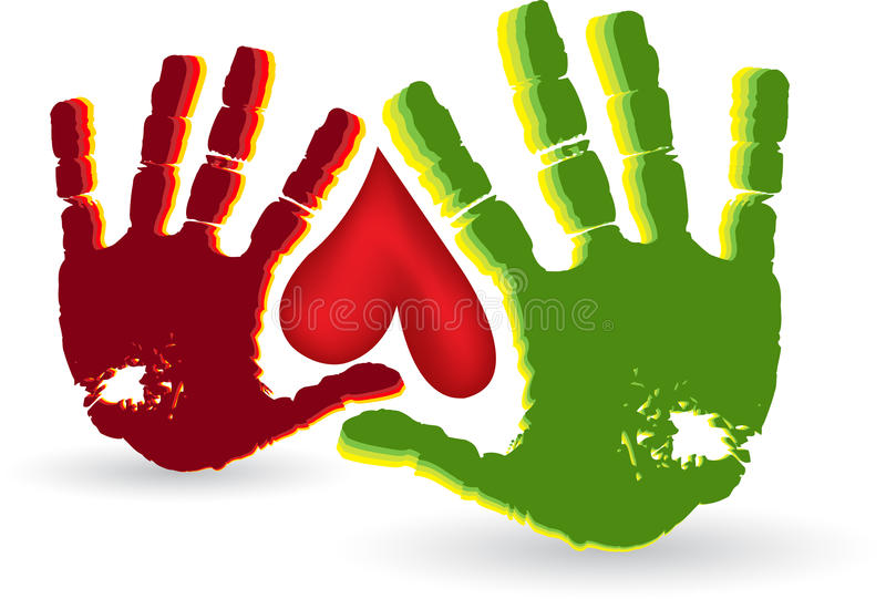 Download Two Hand Heart Logo Stock Photography - Image: 26828702