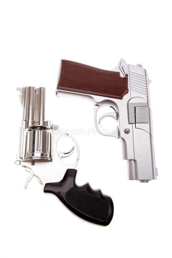 Free Two Handguns Stock Photos - 3443003