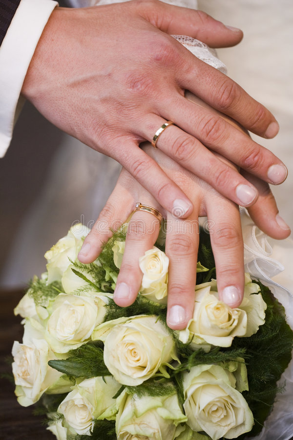 Download Two hands stock image. Image of gold, commitment, elegant - 4012395