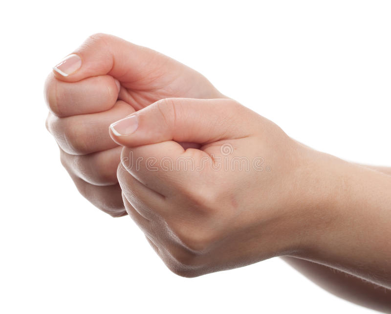 Download Two hands gesture stock image. Image of finger, positive - 27845947