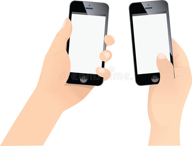 hand holding iphone two holding new iphone editorial stock photo 10757