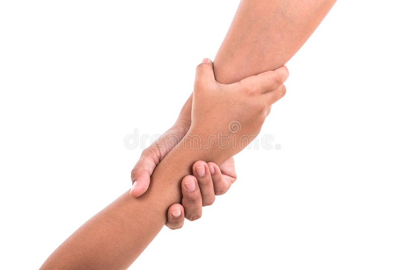 Support Holding Hands