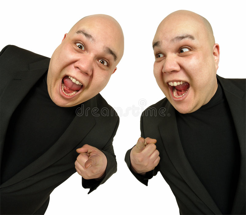 Two Happy To See You Stock Images