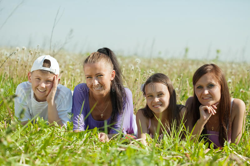 Download Two Happy  Women With Teens Stock Photo - Image: 19854626