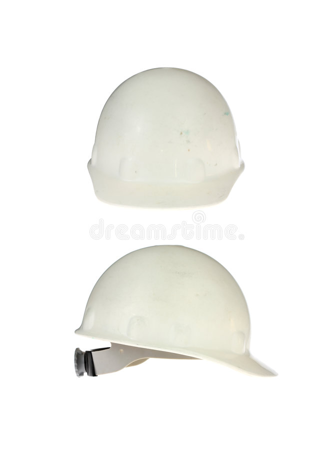 Download Two Hard Hats stock image. Image of dirty, hard, safety - 6966779