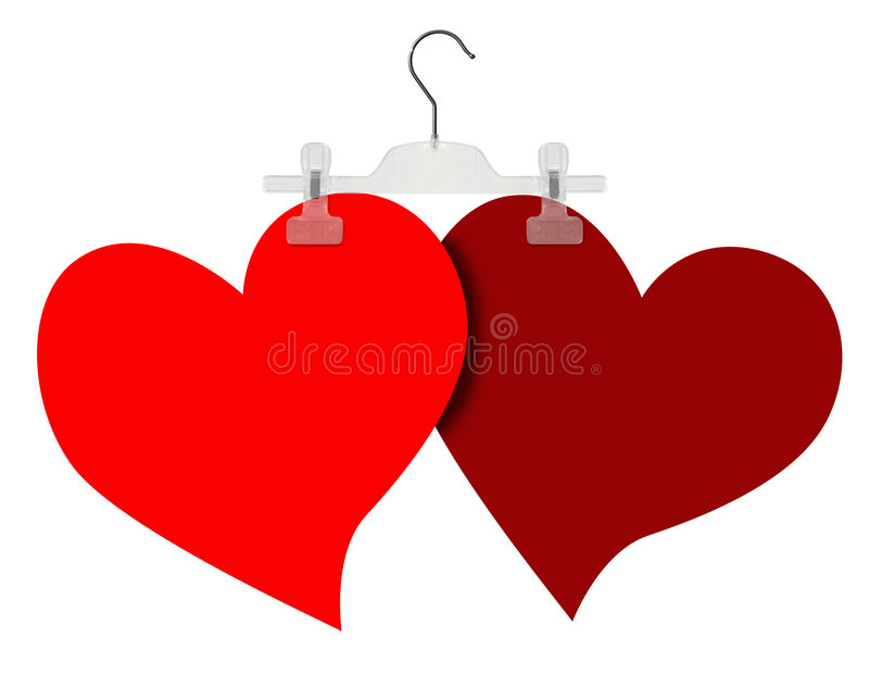 Download Two Hearts Stock Image - Image: 1893151
