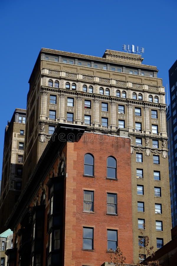 Download Two Old Buildings On A Gorgeous Day Stock Photo - Image: 29853844