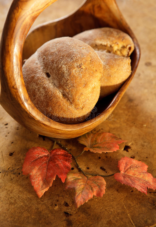 Download Two homemade buns stock photo. Image of tasty, freshness - 25088080