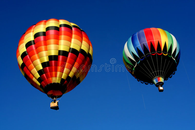 Download Two Hot Air Balloons Stock Photos - Image: 2528683