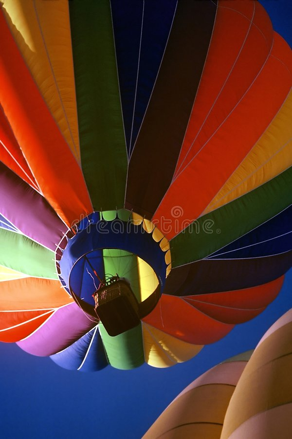 Download Two Hot Air Balloons stock image. Image of aloft, entertainment - 46683