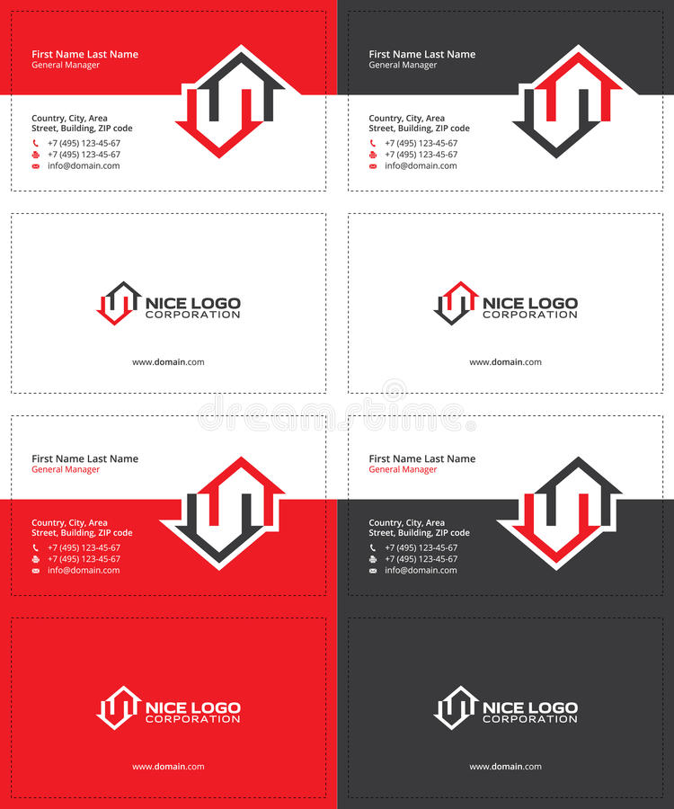 perfect business cards with two names component business card