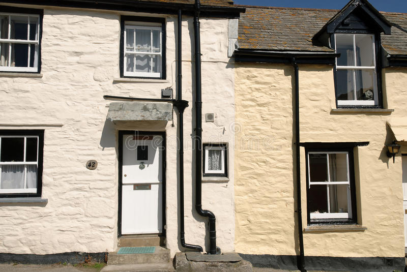 Download Two houses in port isaac stock photo. Image of light - 22038736