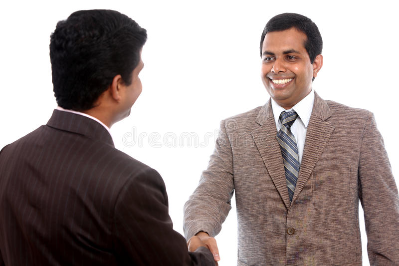 Download Two Indian business people stock photo. Image of businessman - 20770572