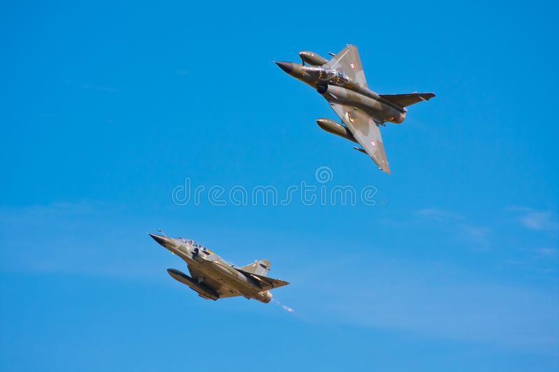 Download Two Jet Planes stock photo. Image of aiplane, defence - 26998096