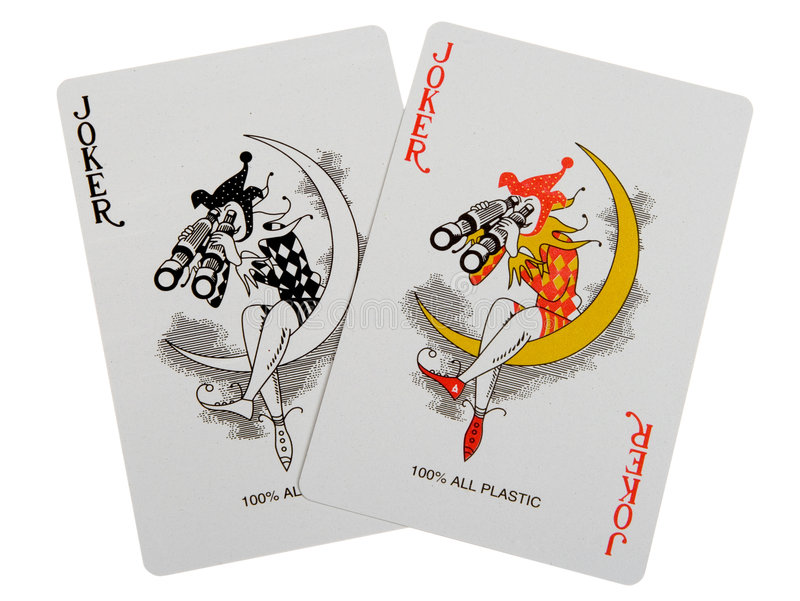 Download Two jokers stock photo. Image of clubs, gamble, club, aces - 1491120